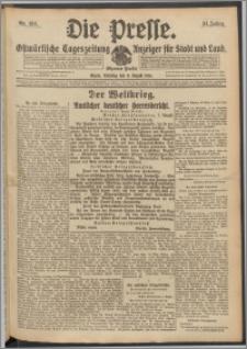 Die Presse 1916, Jg. 34, Nr. 184 Zweites Blatt