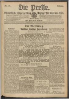 Die Presse 1916, Jg. 34, Nr. 187 Zweites Blatt