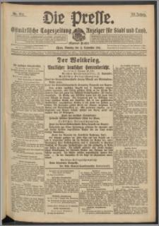 Die Presse 1916, Jg. 34, Nr. 214 Zweites Blatt