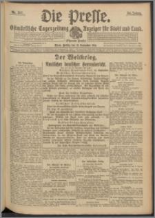 Die Presse 1916, Jg. 34, Nr. 217 Zweites Blatt