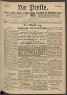 Die Presse 1916, Jg. 34, Nr. 219 Zweites Blatt