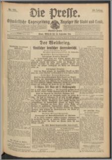 Die Presse 1916, Jg. 34, Nr. 221 Zweites Blatt