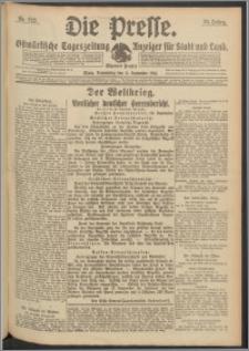 Die Presse 1916, Jg. 34, Nr. 222 Zweites Blatt