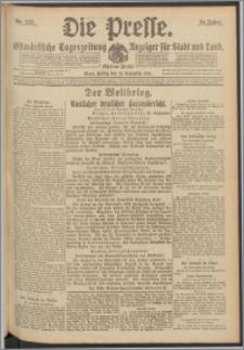 Die Presse 1916, Jg. 34, Nr. 223 Zweites Blatt