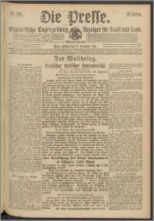 Die Presse 1916, Jg. 34, Nr. 229 Zweites Blatt