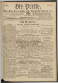 Die Presse 1916, Jg. 34, Nr. 239 Zweites Blatt