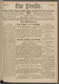Die Presse 1916, Jg. 34, Nr. 251 Zweites Blatt