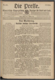 Die Presse 1916, Jg. 34, Nr. 253 Zweites Blatt
