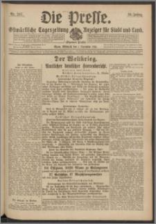 Die Presse 1916, Jg. 34, Nr. 257 Zweites Blatt