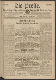 Die Presse 1916, Jg. 34, Nr. 259 Zweites Blatt