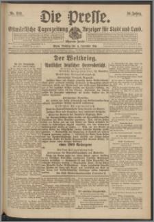 Die Presse 1916, Jg. 34, Nr. 268 Zweites Blatt