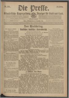Die Presse 1916, Jg. 34, Nr. 269 Zweites Blatt
