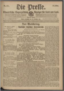 Die Presse 1916, Jg. 34, Nr. 277 Zweites Blatt