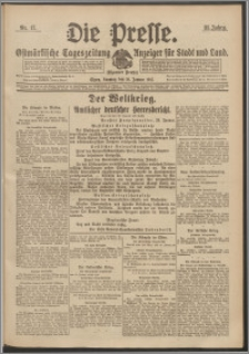 Die Presse 1917, Jg. 35, Nr. 17 Zweites Blatt, Drittes Blatt