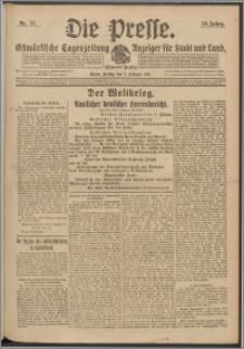 Die Presse 1917, Jg. 35, Nr. 27 Zweites Blatt