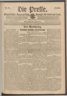 Die Presse 1917, Jg. 35, Nr. 29 Zweites Blatt, Drittes Blatt