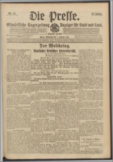 Die Presse 1917, Jg. 35, Nr. 31 Zweites Blatt