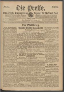 Die Presse 1917, Jg. 35, Nr. 32 Zweites Blatt