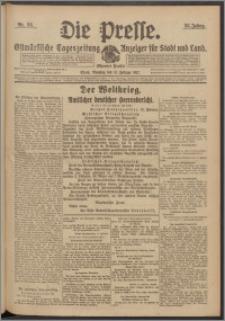 Die Presse 1917, Jg. 35, Nr. 36 Zweites Blatt