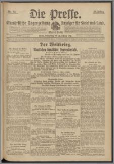Die Presse 1917, Jg. 35, Nr. 44 Zweites Blatt