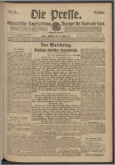 Die Presse 1917, Jg. 35, Nr. 67 Zweites Blatt