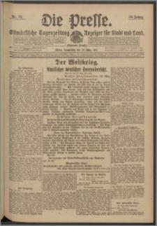 Die Presse 1917, Jg. 35, Nr. 74 Zweites Blatt