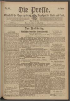 Die Presse 1917, Jg. 35, Nr. 80 Zweites Blatt