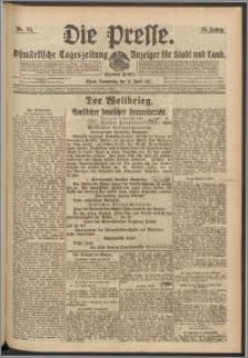 Die Presse 1917, Jg. 35, Nr. 84 Zweites Blatt, Drittes Blatt
