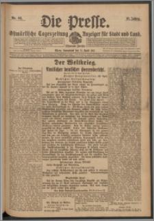 Die Presse 1917, Jg. 35, Nr. 92 Zweites Blatt