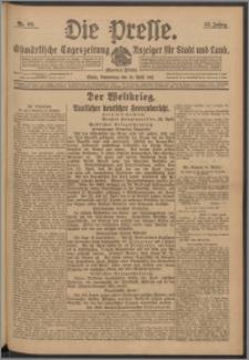 Die Presse 1917, Jg. 35, Nr. 96 Zweites Blatt