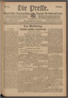 Die Presse 1917, Jg. 35, Nr. 98 Zweites Blatt