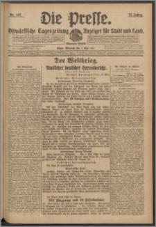 Die Presse 1917, Jg. 35, Nr. 107 Zweites Blatt