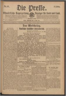 Die Presse 1917, Jg. 35, Nr. 113 Zweites Blatt