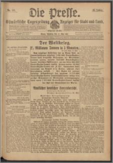 Die Presse 1917, Jg. 35, Nr. 117 Zweites Blatt