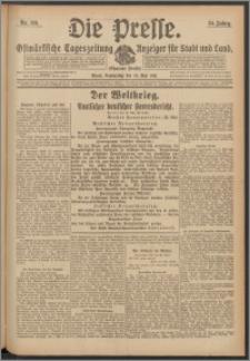 Die Presse 1917, Jg. 35, Nr. 119 Zweites Blatt