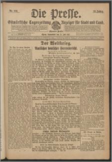 Die Presse 1917, Jg. 35, Nr. 168 Zweites Blatt