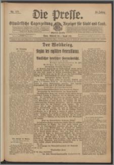 Die Presse 1917, Jg. 35, Nr. 177 Zweites Blatt