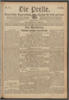 Die Presse 1917, Jg. 35, Nr. 184 Zweites Blatt