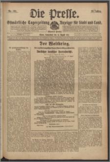 Die Presse 1917, Jg. 35, Nr. 192 Zweites Blatt