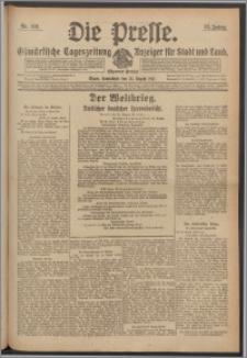 Die Presse 1917, Jg. 35, Nr. 198 Zweites Blatt