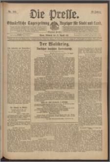 Die Presse 1917, Jg. 35, Nr. 201 Zweites Blatt