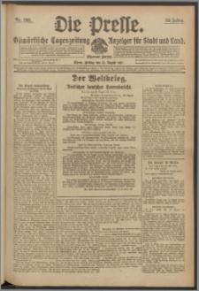 Die Presse 1917, Jg. 35, Nr. 203 Zweites Blatt