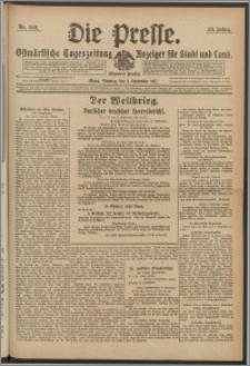 Die Presse 1917, Jg. 35, Nr. 206 Zweites Blatt