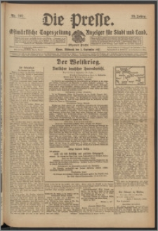 Die Presse 1917, Jg. 35, Nr. 207 Zweites Blatt