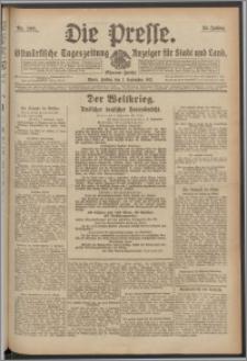 Die Presse 1917, Jg. 35, Nr. 209 Zweites Blatt