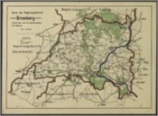 Karte des Regierungsbezirks Bromberg