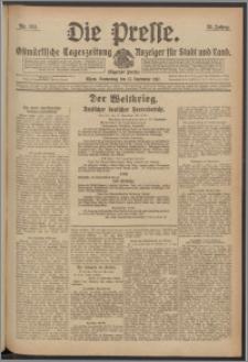 Die Presse 1917, Jg. 35, Nr. 214 Zweites Blatt