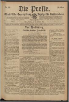 Die Presse 1917, Jg. 35, Nr. 218 Zweites Blatt