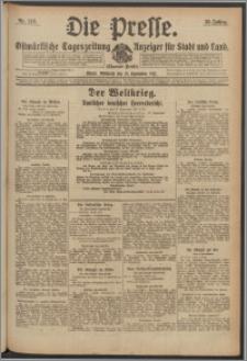 Die Presse 1917, Jg. 35, Nr. 219 Zweites Blatt