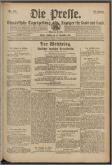 Die Presse 1917, Jg. 35, Nr. 221 Zweites Blatt